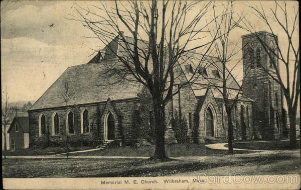 Memorial M. E. Church Wilbraham Massachusetts