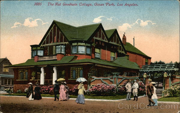 The Nat Goodwin Cottage, Ocean Park Los Angeles California