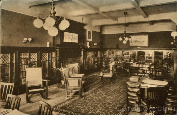 The Library, Young Women's Christian Association Los Angeles California