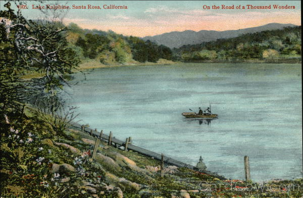 Lake Ralphine Santa Rosa California