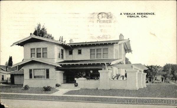 A visalia residence california postcard for T shirt printing visalia ca