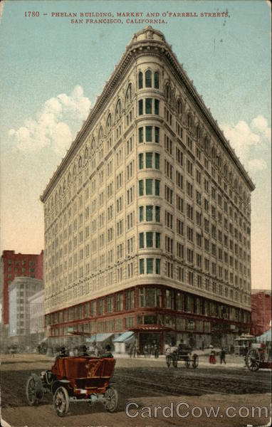Phelan Building, Market and O'Farrell Streets San Francisco California