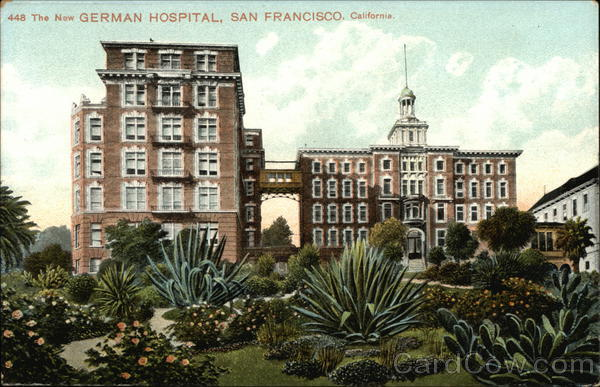 German Hospital San Francisco California