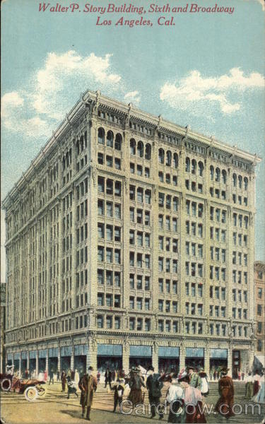 Walter P. Story Building, Sixth and Broadway Los Angeles California