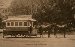 Horse Car - Steinbeck Furniture Company Adv.