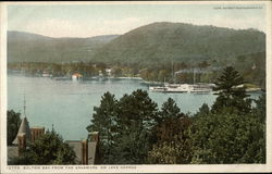 Bolton Bay from the Sagamore on Lake George