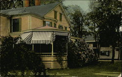 The E.R. Brown Residence