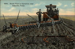 Steam Plow in Operation