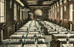 Interior of Yale Dining Hall