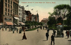 Tremont Street S. From West St.
