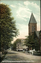 Maple St. Showing Second Congregational Church