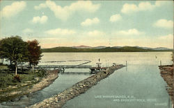 Lake Winnipesaukee and Endicott Rock, Weirs