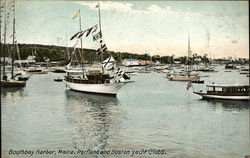 Portland and Boston Yacht Clubs