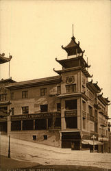 Chinese Bazaar Building in Chinatown
