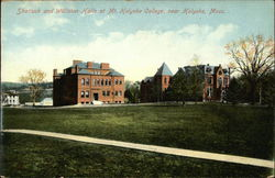 Shattuck and Williston Halls at Mt. Holyoke College