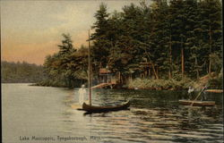 Boats on Lake Mascuppic