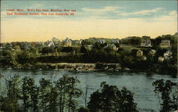 Bird's Eye View, Merrimac River and East Residential Section, View from Centervill Hill.