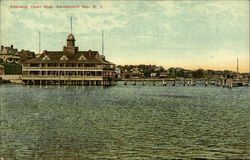 Edgewood Yacht Club Postcard