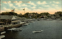 Pawtuxet Cove and Boat Landing