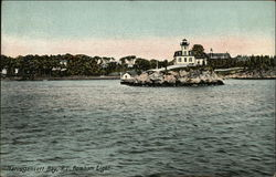 Pomham Light Postcard