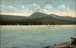 Panther Mountain and Piseco Lake, Adirondack Mts.
