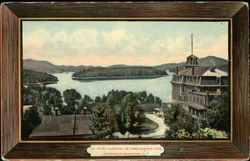 Hotel Algonquin, on Lower Saranac Lake, Adirondack Mountains