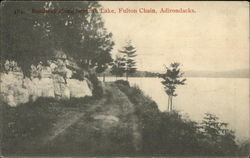 Roadway Along Seventh Lake