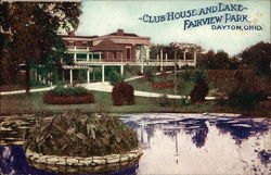Club House and Lake- Fairview Park