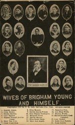 20 Wives of Brigham Young and Himself