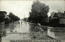 Section of Flooded District, North Bottoms, Denver Flood, July 14, 1912