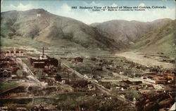 Birdseye View of School of Mines and Town