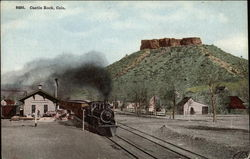 Train and View of Butte