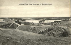 Minidoka Dam, from Head-gate of Northside Canal