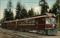 Coeur D'Alene and Spokane Electric Railway