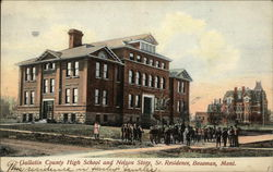 Gallatin County High School and Nelson Story, Sr. Residence