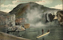 Big Horn River and Hot Springs Falls