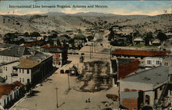 International Line between Nogales, Arizona and Mexico
