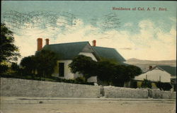 Residence of Col. A.T. Bird