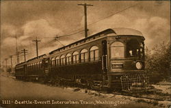 Seattle-Everett Interurban Train