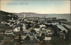 Astoria, Oregon, looking West.