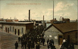 Ferry Landing Workmen from Mare Island Navy Yard
