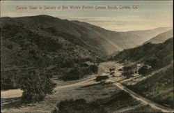 Canyon Scene in January at Ben White's Foothill Corona Ranch