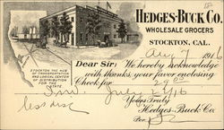 Hedges-Buck Co., Wholesale Grocers