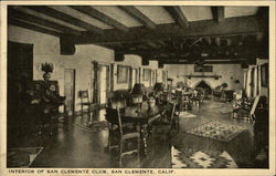Interior of San Clemente Club