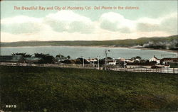 View Of Monterey, With Del Monte In The Distance
