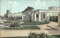 Administration Building and Gardens, General View of Approach