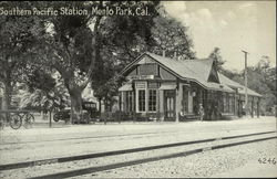 Southern Pacific Station, Menlo Park, Cal.