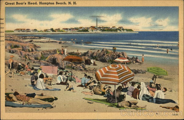 The beach at Great Boar's Head Hampton Beach New Hampshire
