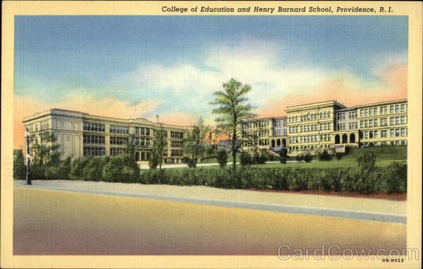 College of Education and Henry Barnard School Providence Rhode Island