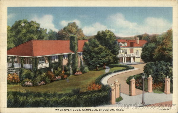 Walk-Over Club, Campello Brockton Massachusetts